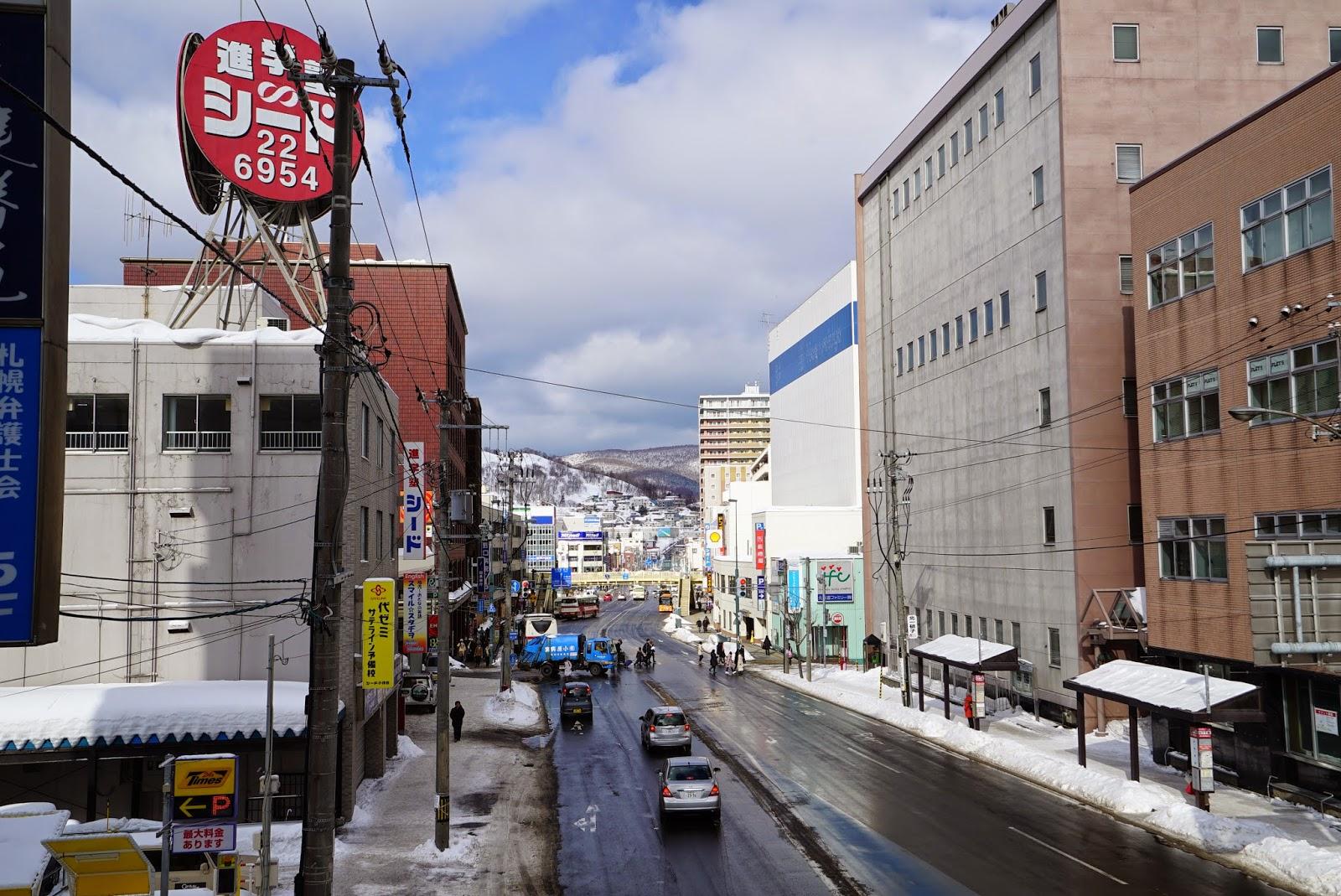 雨的形狀: 道央 北海道大學 小樽 2015 Feb 4 Hokkaido 9
