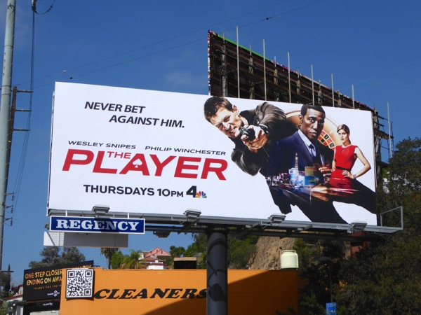 The Player series premiere billboard