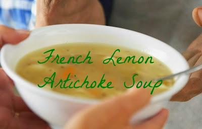 vegan artichoke soup