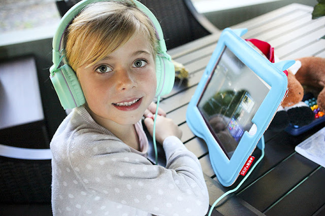 Come tech savvy for travel with kids. iPads and headphones are a must