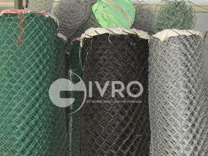 Produksi Kawat Harmonika PVC & Kawat Harmonika Galvanis Jakarta