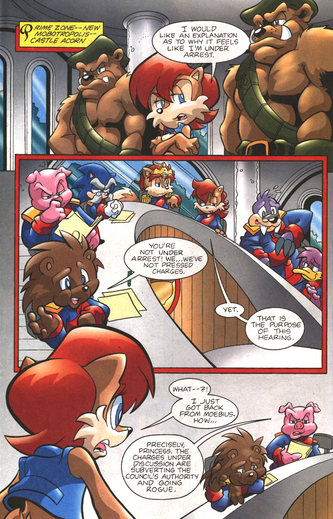 Read online Sonic The Hedgehog comic -  Issue #197 - 6
