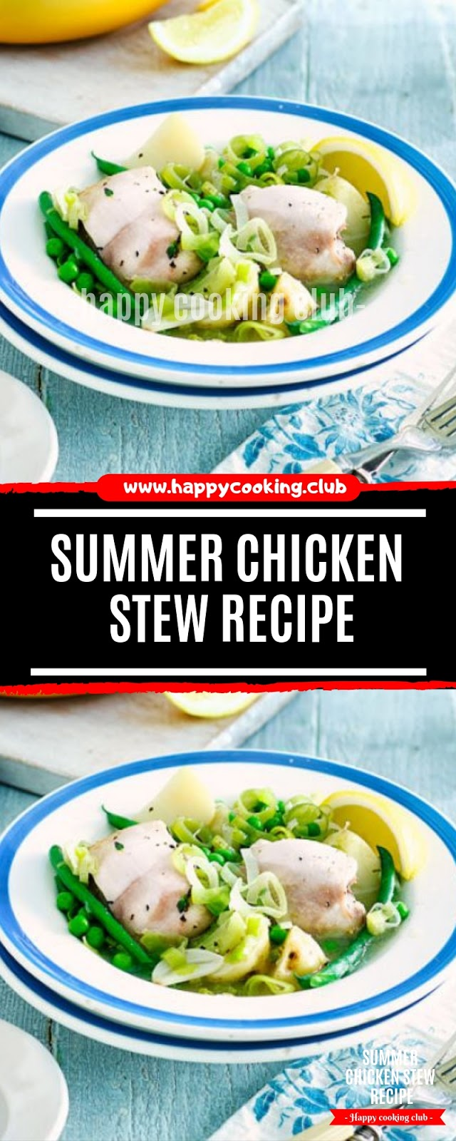 Summer chicken stew Recipe