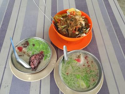 Cendol tapai durian batu 9, Tanjung Karang