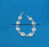 gelang perak wanita disain filigree silver handmade