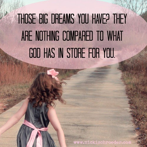 God has amazing things in store for your life.