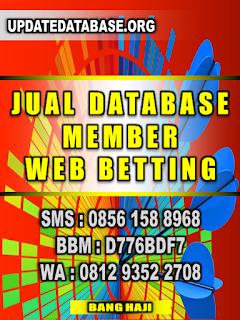 Database Member Web Betting