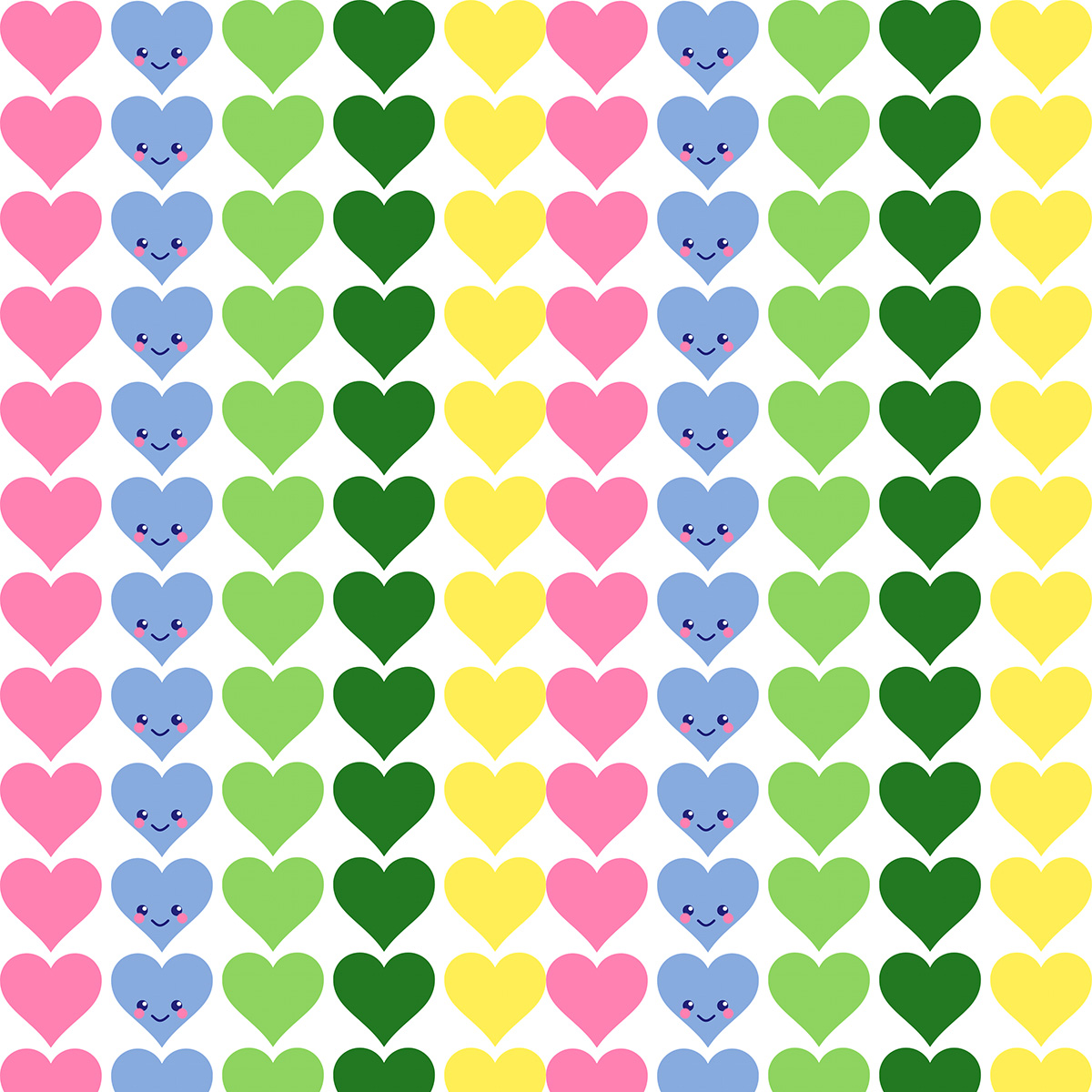 Cute Scrapbook Paper Patterns heart scrapbooking paper