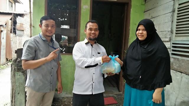 Menjemput Jumat Berkah, PKS Medan Area Berbagi Sembako