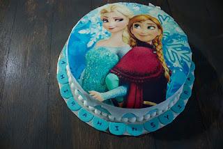 kue ulang tahun frozen disney