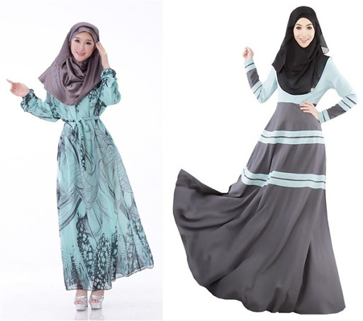 dress muslim casual terbaru 2016/2017