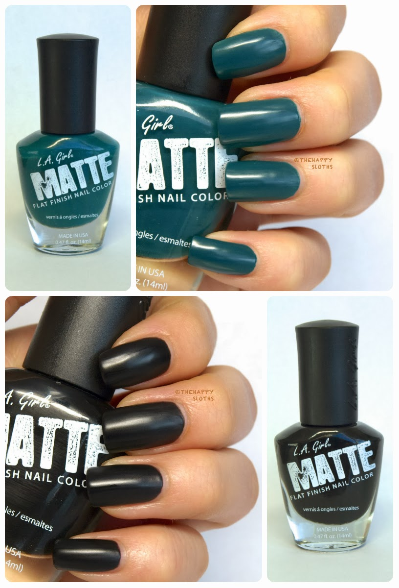 "L.A Girl Matte Finish Nail Polish in ""Alpine Green ..."