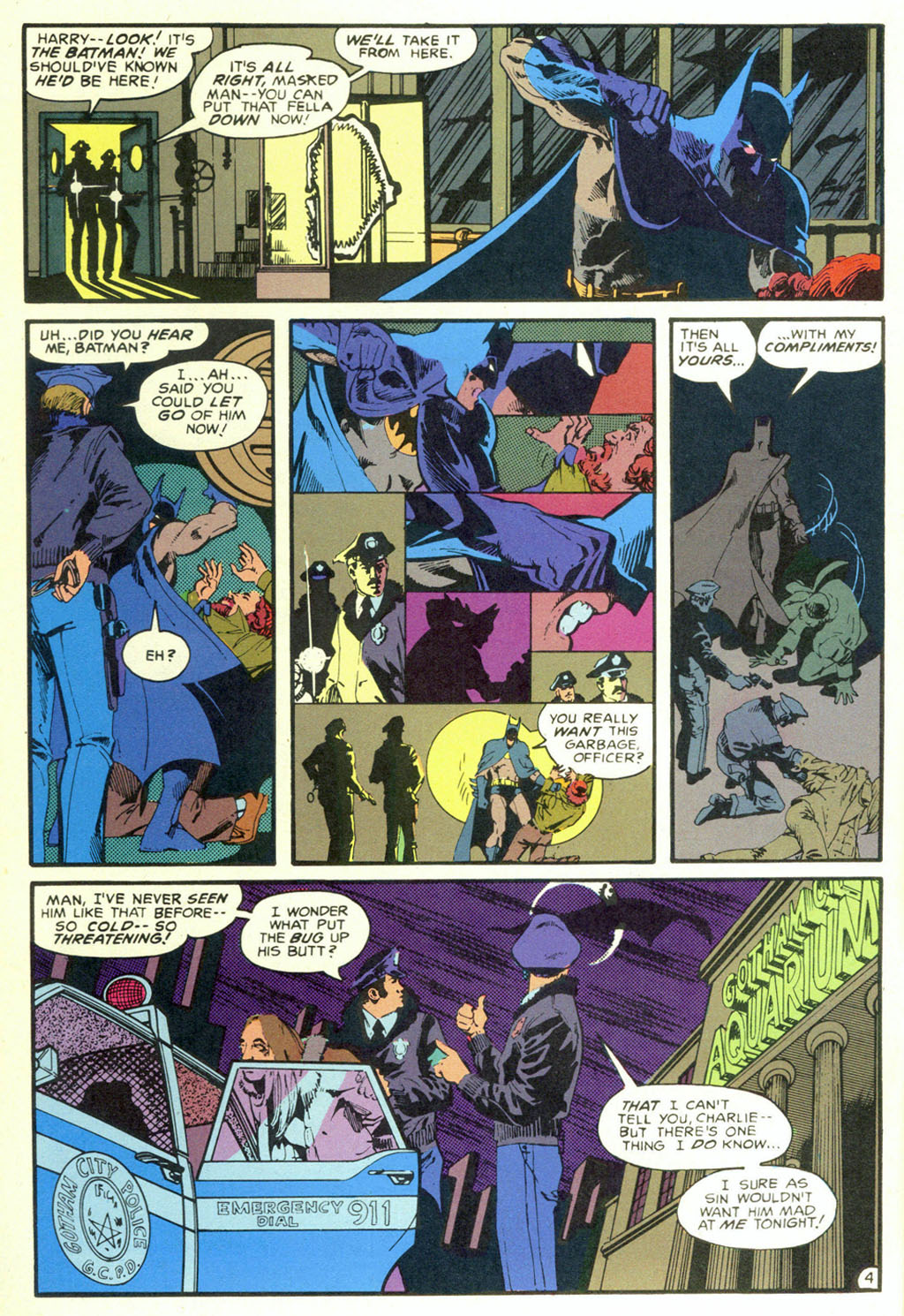 Read online Shadow of the Batman comic -  Issue #5 - 7