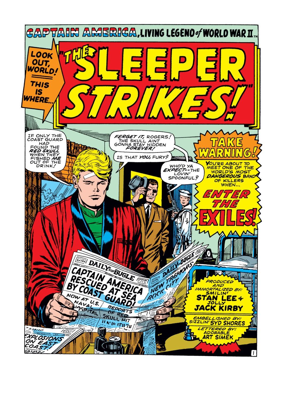 Read online Captain America (1968) comic -  Issue #102 - 2