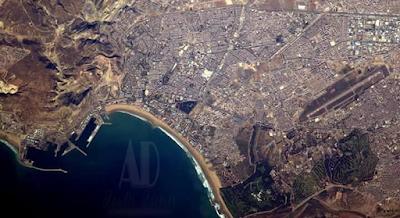 Satellite view of Agadir