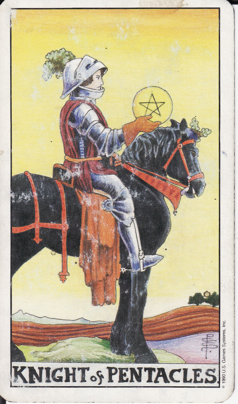 TAROT - The Royal Road: KNIGHT OF PENTACLES