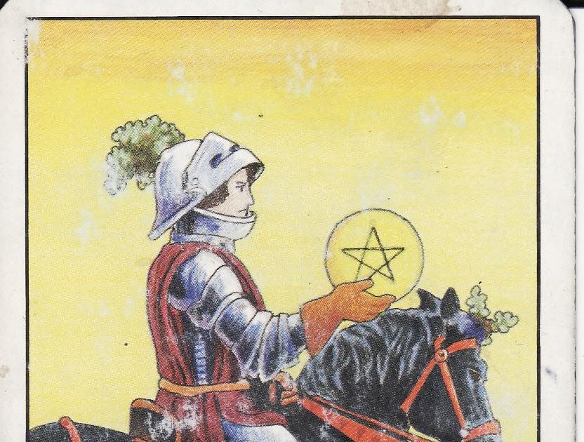 TAROT - The Royal Road: KNIGHT OF PENTACLES