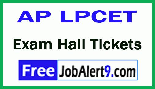 Andhra Pradesh AP LPCET Exam Hall Tickets Download