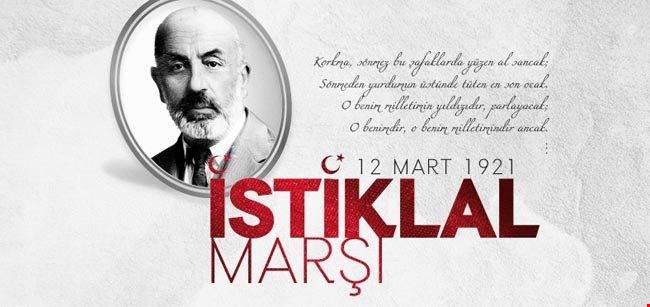12 Mart İstiklal Marşının Kabulü