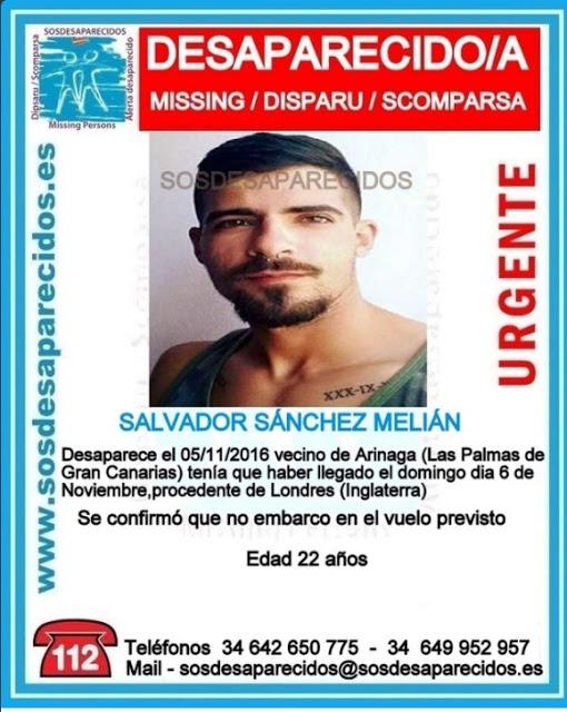 Un hermano del grancanario desaparecido en Londres viaja para identificar un cuerpo