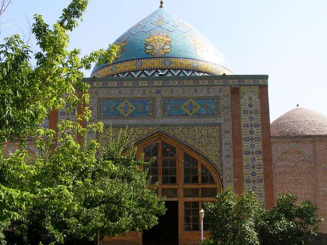Mezquita Azul de Ereván en la Lista de la UNESCO