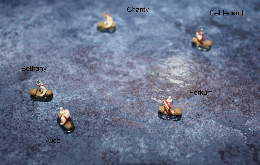 Topic: Small medieval naval game using Peter Lamming's cogs on blog