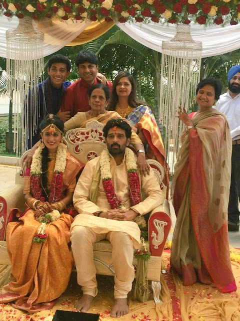 JD Chakravarthy, Anukriti Wedding Photos