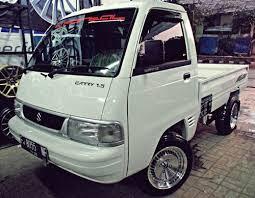 Inilah Foto Modifikasi Mobil Pick Up Suzuki Carry