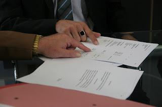contoh surat perjanjian kontrak / sewa rumah