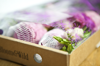 Bloom & Wild, flowers in a box