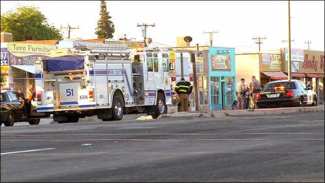kern county car accident crash pedestrian death lamont main street
