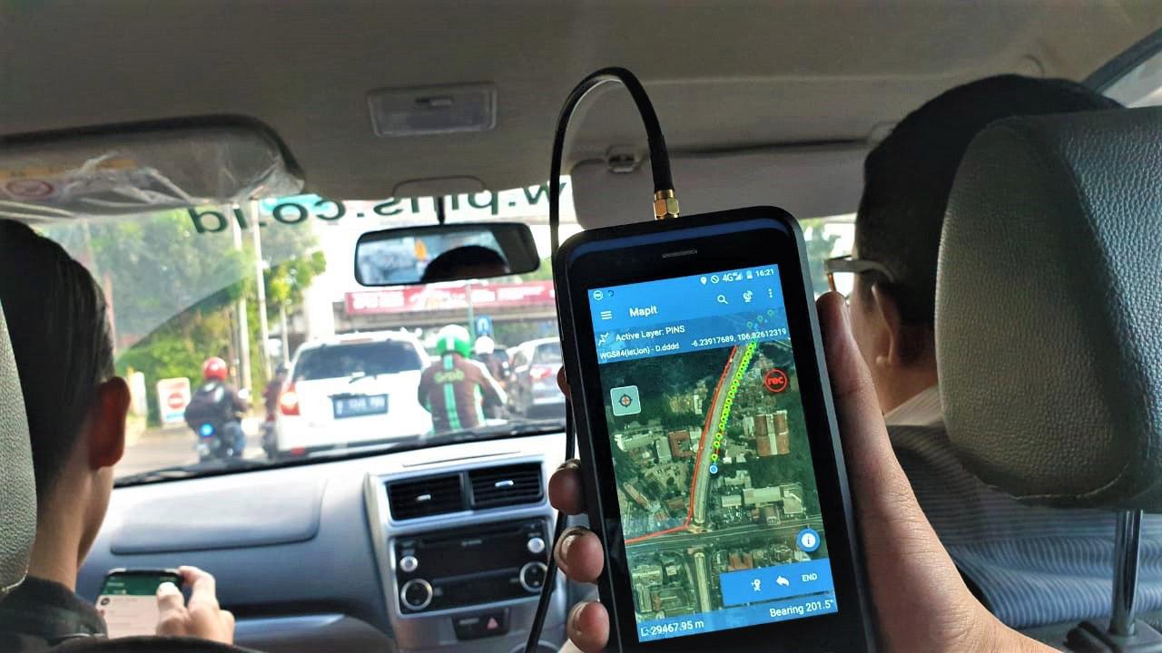 Tracking GNSS Bersama PT PINS INDONESIA