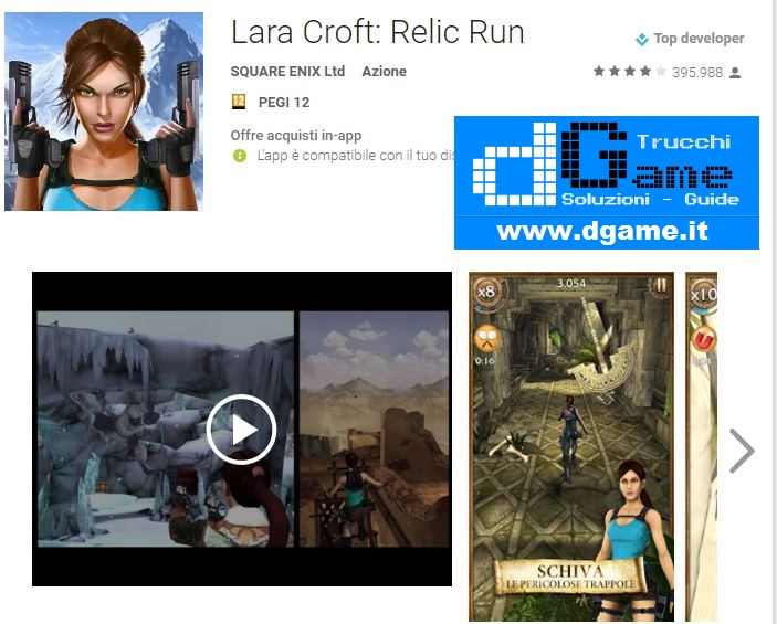 Trucchi Lara Croft: Relic Run Mod Apk Android v1.10.97