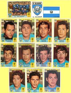El Salvador football stickers