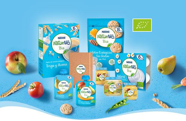Productos ecológicos Naturnes Bio Nestle