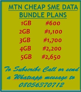 BUY CHEAP MTN SME DATA BUNDLE PLAN