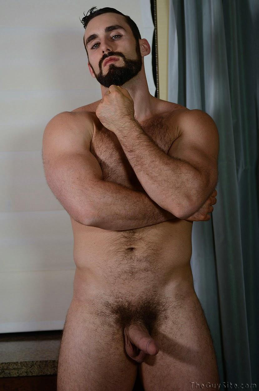 hairy muscle guys