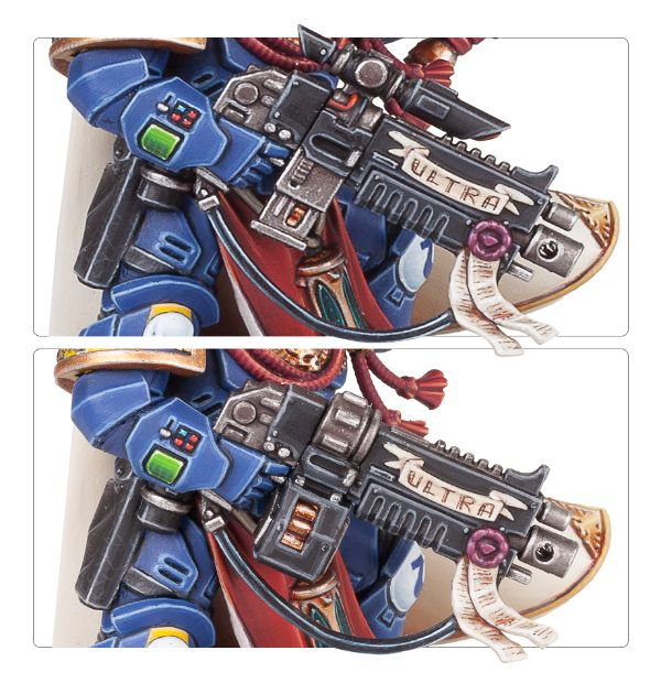 space marine primaris captain bolter options