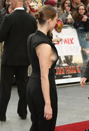 Rebecca Hall Quot Iron Man Quot Premiere In London Red Carpet
