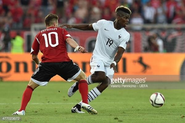 Perancis vs Albania