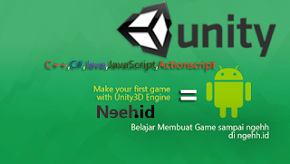 Bahasa Pemrograman untuk Membuat Game Android, IOS dan Desktop