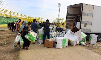Syria Fundraising Drive in Saudi Arabia