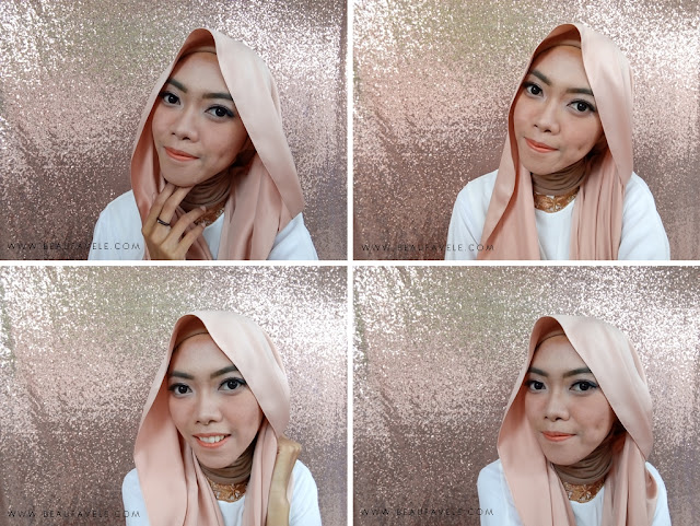 Makeup Look menggunakan NYX HD Studio Foundation