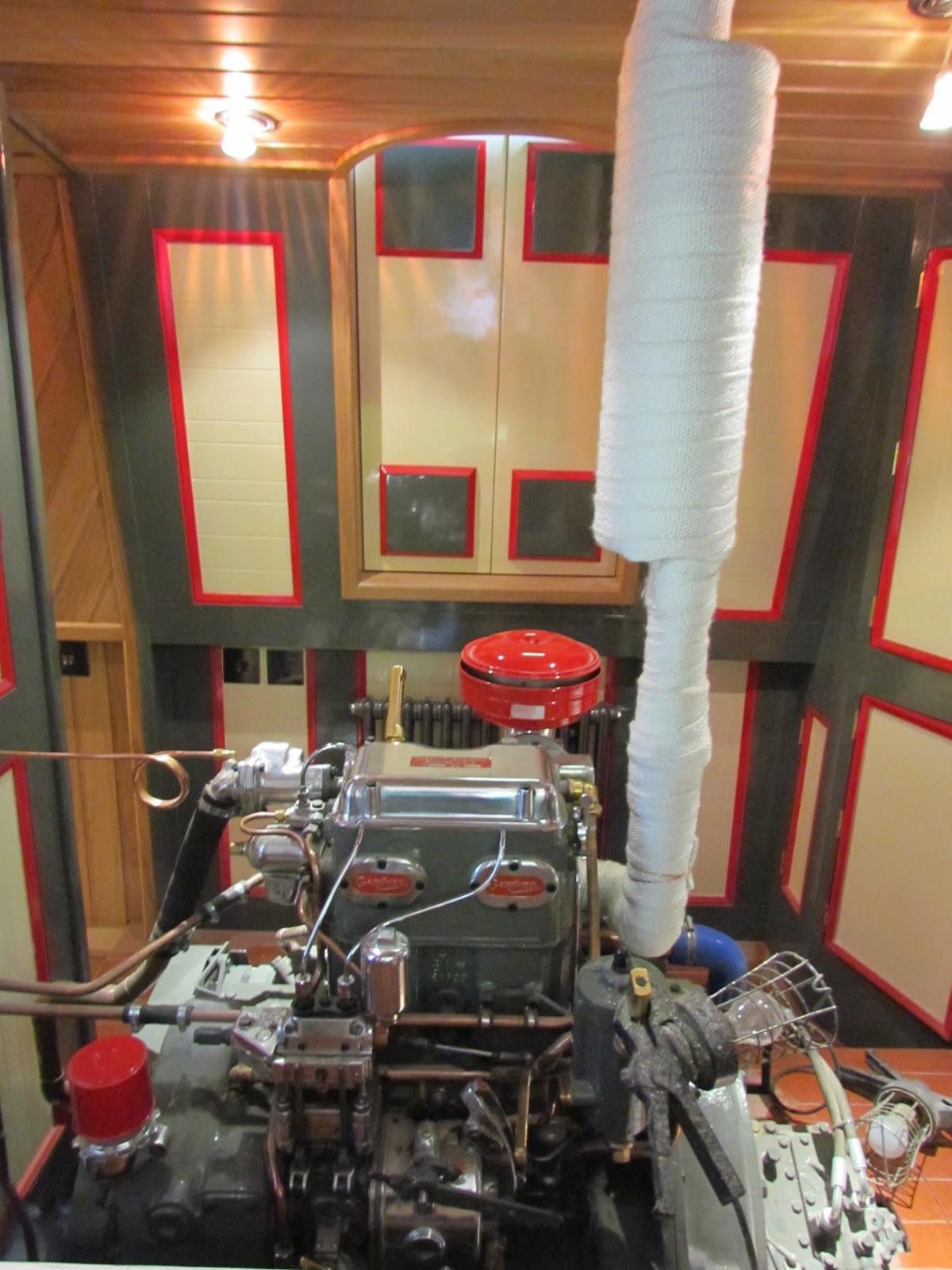 Boat Engine Room: Autumn Myst: May 2012