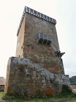 1000 Lugares en Galicia: Torre de Vilanova dos Infantes en ...