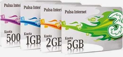 paket internet 3