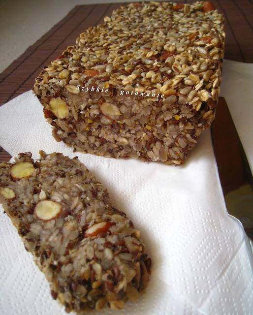 Chleb zmieniający życie - bez mąki, z samych ziaren (najzdrowszy chleb na świecie)