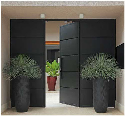 model pintu minimalis lengkap