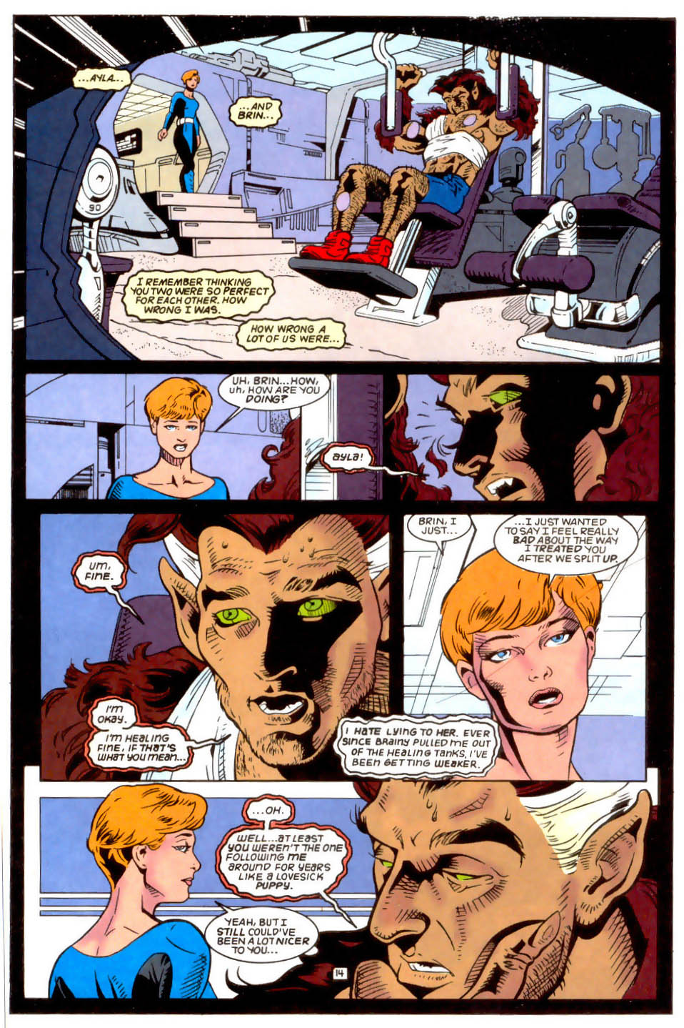 Legion of Super-Heroes (1989) 50 Page 14