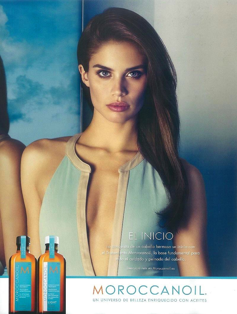 Moroccanoil names Portuguese model Sara Sampaio its new brand ambassador